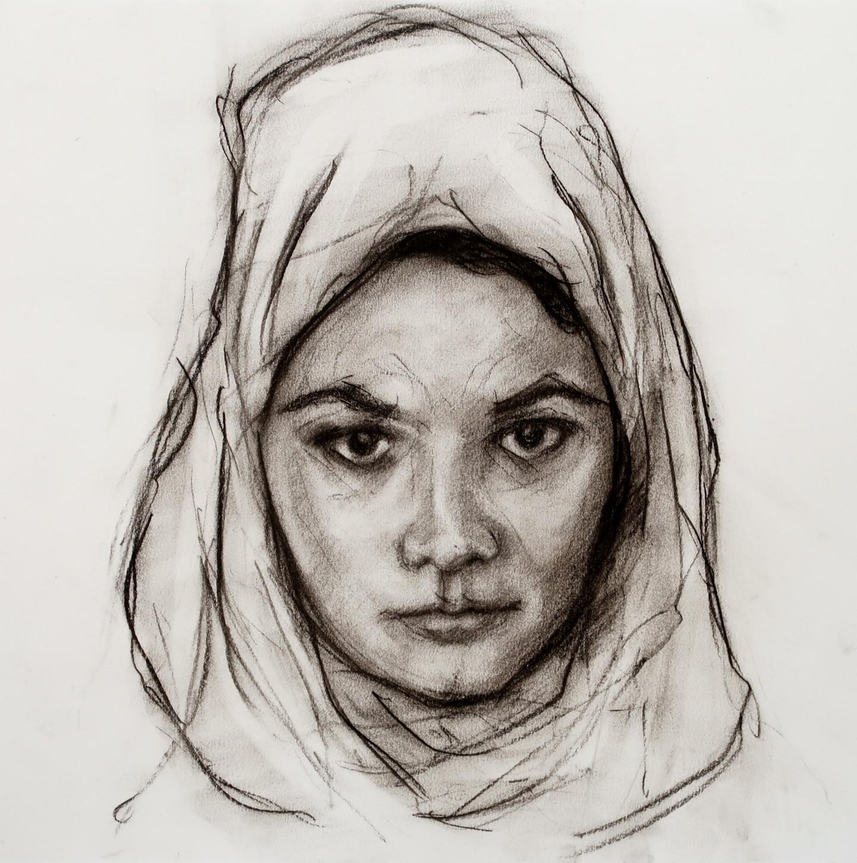 Rupert Cefai - Study portrait of D for Mariam