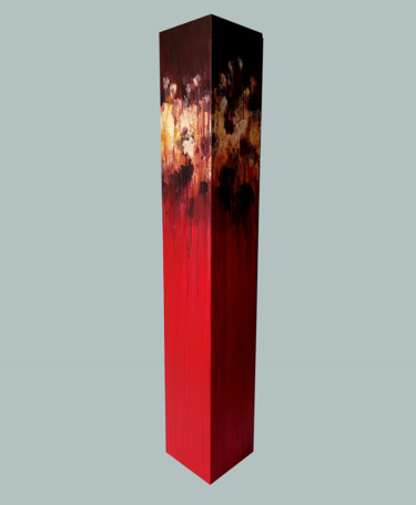 totem: dark red on red