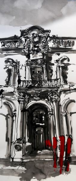 palazzo zondadari valletta - facade