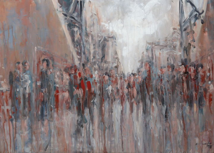 rupert cefai - Crowd in transit